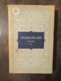 Shakespeare, Opere vol. 2, Richard II, Neguțătorul din Veneția, Iuliu Cezar
