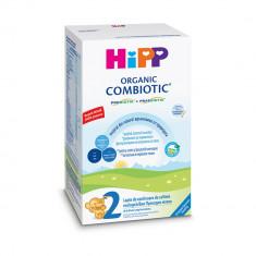 Lapte praf de continuare Organic Combiotic Hipp 2, 300 g, 6 luni+