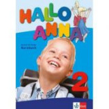 Hallo Anna 2. Lehrbuch mit 2 Audio-CDs. Deutsch für Kinder - Olga Swerlova