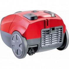 Aspirator cu sac Thomas Eco Power 785038, 700 W, clasa eficienta energetica A, filtru lavabil HEPA13, Rosu