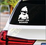Baby On Board -Stickere Auto-Cod:ESV-175 -Dim    20 cm. x 12.6 cm.