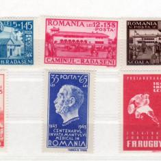 Romania  1944   lot   3   serii
