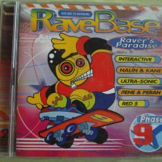 2 CD la pret de 1 - RAVE BASE Phase 9 - 2 C D Originale