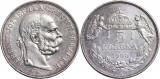 1900 - KB - 5 korona - Franz Joseph I - Imperiul Austro-Ungar