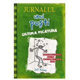 Carte Editura Arthur - Jurnalul unui pusti 3. Ultima picatura