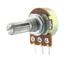 Potentiometru rotativ 500 Ohmi, liniar, mono - 161000