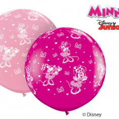 Balon Latex Jumbo 3 ft Minnie Mouse Disney, Qualatex 49577, 1 buc