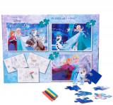 Puzzle 3in1 + Bonus Frozen, Disney