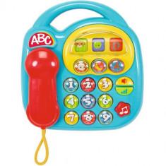 Jucarie ABC Telefon Muzical Blue