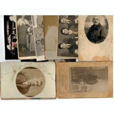 Lot 9 fotogarfii vechi ca.1900-1930