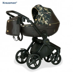 Krausman - Carucior 3 in 1 Topaz Lux Dark Brown LIMITED