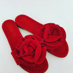 Papuci dama, 38, Rosu