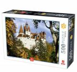 Cumpara ieftin Puzzle landscapes Castelul Bran toamna, 500 piese
