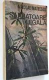 Sarbatoare Legala - Nicolae Mateescu