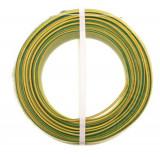 Cablu electric FY H07V-U 2.5, galben verde
