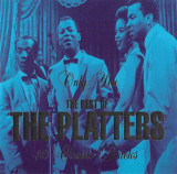 CD The Platters ‎– The Best Of The Platters, original, holograma