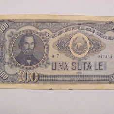 CY - 100 lei 1952 Romania / serie inchisa