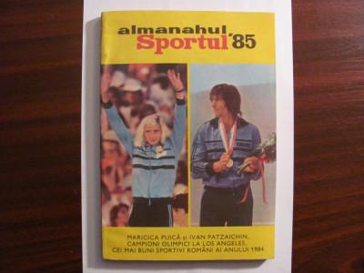 CY - Almanahul Sportul 1985 foto