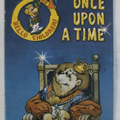 ONCE UPON A TIME , stories selected by MIRELLA ACSENTE , cover and drawings by VLAD VARZARU , 1993