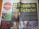 Evenimentul zilei 22 decembrie 1999- art despre natalia oreiro,hagi,f.raducioiu