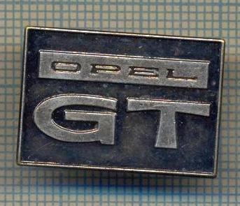 "Y 1021 INSIGNA - AUTOMOBILISM - ,,OPEL GT""  -PENTRU COLECTIONARI"