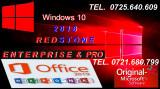 Windows 10 RedStone + Antivirus+OFFICE 2019+Licenta Permanenta+STICK !