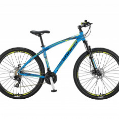 """Bicicleta MTB Umit Camaro 2D , Cadru 18"""" , 21 Viteze , Culoare Albastru Roata 26PB Cod:2661018000, Discuri"""