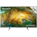 Televizor Sony LED Smart TV KD65XH8077SAEP 165cm 65inch Ultra HD 4K Silver