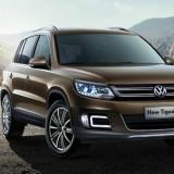 Lumini de zi dedicate VW TIGUAN 2013 cu proiector ceata led, auto