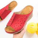 Papuci dama rosii MDL00609