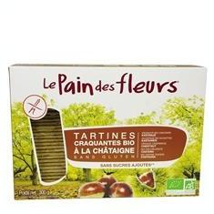 Tartine Crocante Bio Fara Gluten cu Castane Le Pain Des Fleurs 300gr Cod: 3380380068522