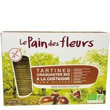 Tartine Crocante Bio Fara Gluten cu Castane Le Pain Des Fleurs 300gr Cod: 6852