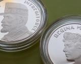 Cumpara ieftin LOT 2 x 50 Bani 2019 PROOF , Moneda Regina Maria + Regele Ferdinand Romania