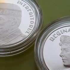 LOT 2 x 50 Bani 2019 PROOF , Moneda Regina Maria + Regele Ferdinand Romania