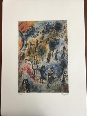 Litografie Marc Chagall 50x70 editie SPADEM foto
