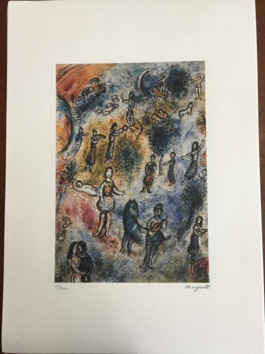 Litografie Marc Chagall 50x70 editie SPADEM