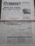 Ziar Crisana Oradea Bihor 1 noiembrie 1975