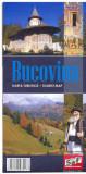 Harta turistica - Bucovina |