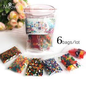 6 pachete Bilute masuri diferite decorative gel isi maresc volumul in apa foto