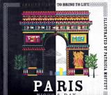 Paris Night & Day Colouring Book, 2016