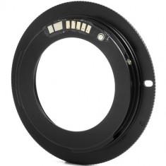 Inel adaptor M42 pentru Canon EOS cu confirmare focus