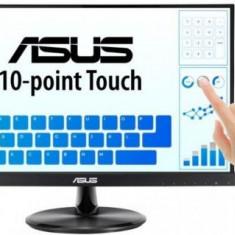 Monitor IPS LED ASUS 21.5inch VT229H, Full HD (1920 x 1080), HDMI, Boxe, Touchscreen (Negru)