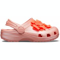 Saboți Fete casual Crocs Classic Vivid Blooms Kids Clog