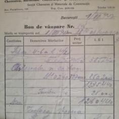 """Bon vanzare """"Pinul"""", Pantelimon, 153, M.M. Segall, cherest, moară macinat piatră"""