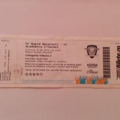 Bilet de meci: FC Rapid Bucuresti - FC Academica Clinceni (22.05.2016)