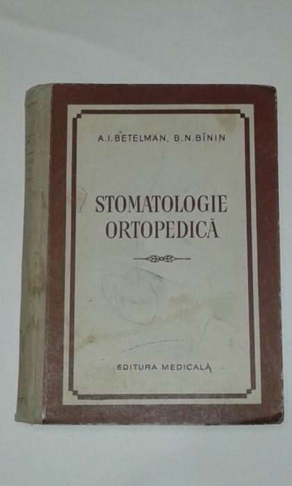 A.I.BETELMAN - STOMATOLOGIE ORTOPEDICA