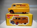 Macheta BEDFORD VAN 10 CWT KODAK  - Dinky Toys, Alta