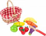 Mini coș cu fructe și legume