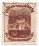 România, LP 370/1954, A X-a aniversare a eliberării patriei, eroare, oblit.