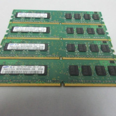 Kit memorie RAM  4Gb DDR2 800Mhz PC2-6400 compatibil cu  667Mhz PC2-5300
